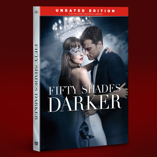 fifty shades darker unrated dvd