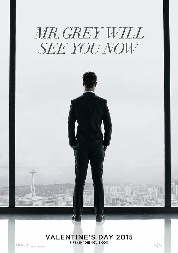 Fifty Shades of Grey teaser poster