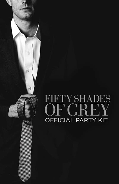 fifty shades of grey official party kit