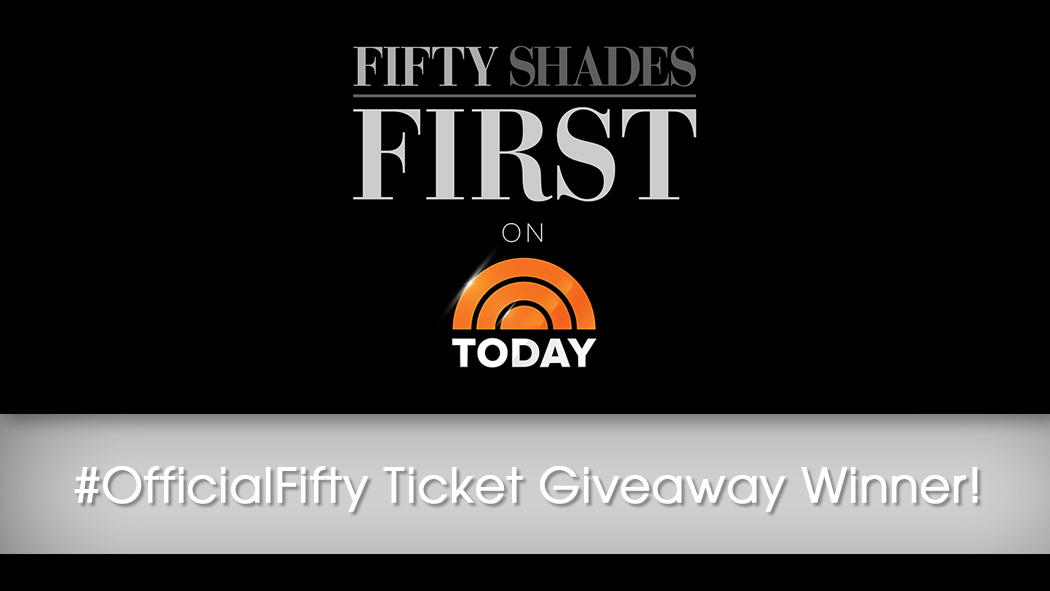 Official Fifty Ticket Giveaway Winner