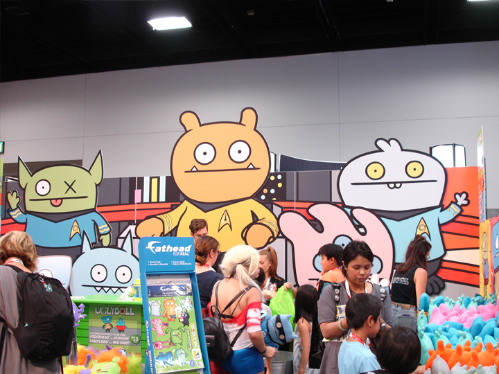 Ugly Doll booth