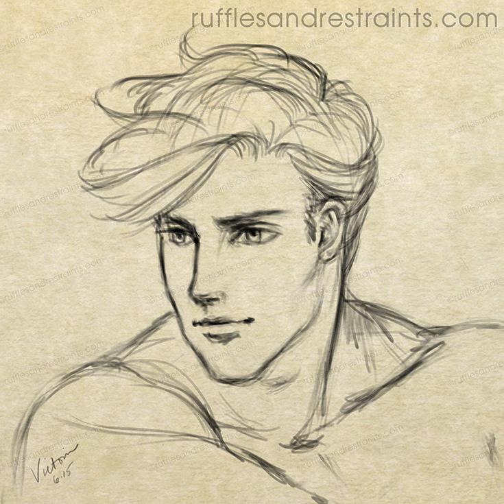 male sketch
